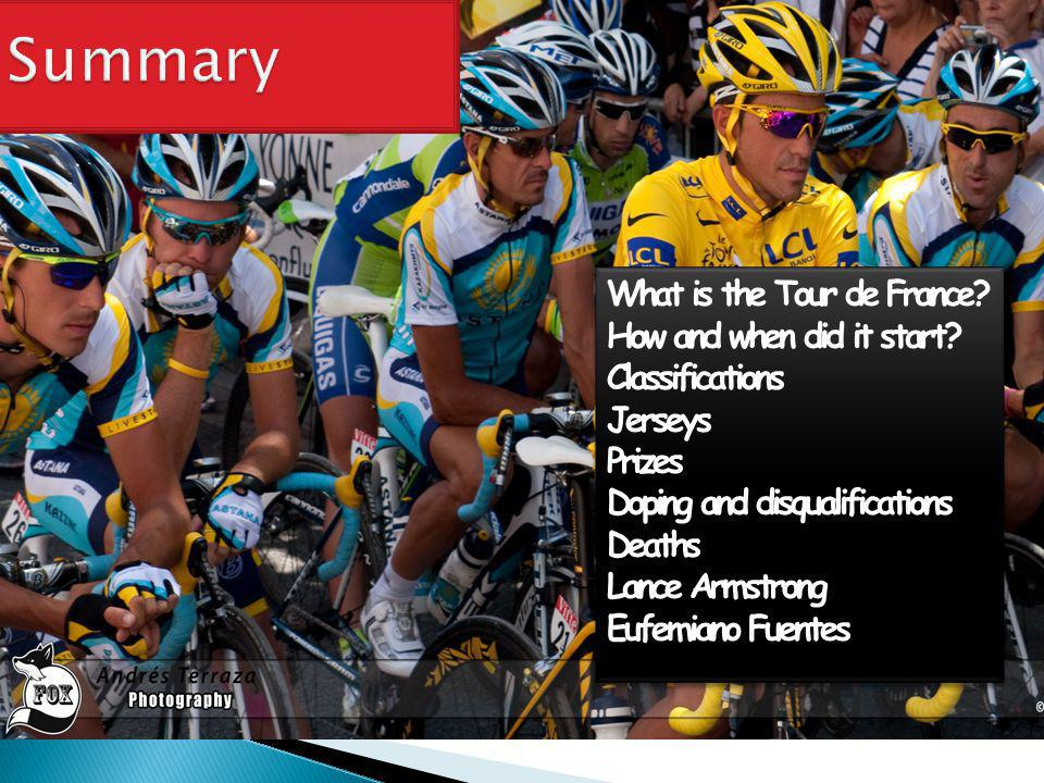 What is the Tour de France. How and when did it start.