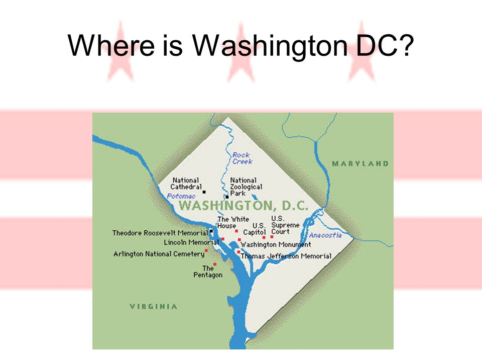 Where is Washington DC