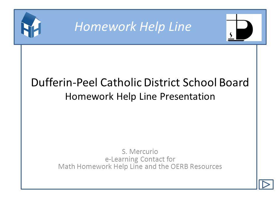 dufferin peel homework policy