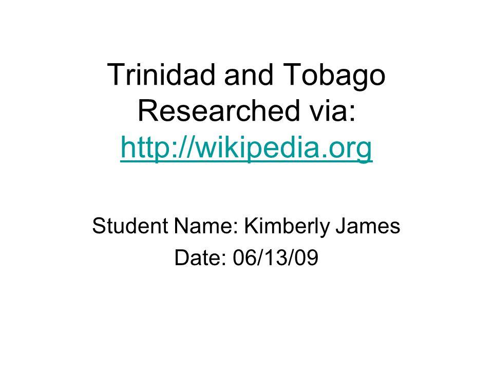 dating trinidad and tobago