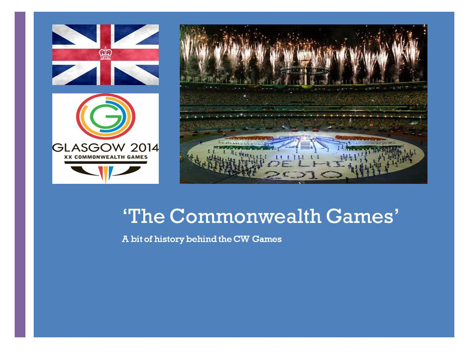 + 'The Commonwealth Games' A bit of history behind the CW Games