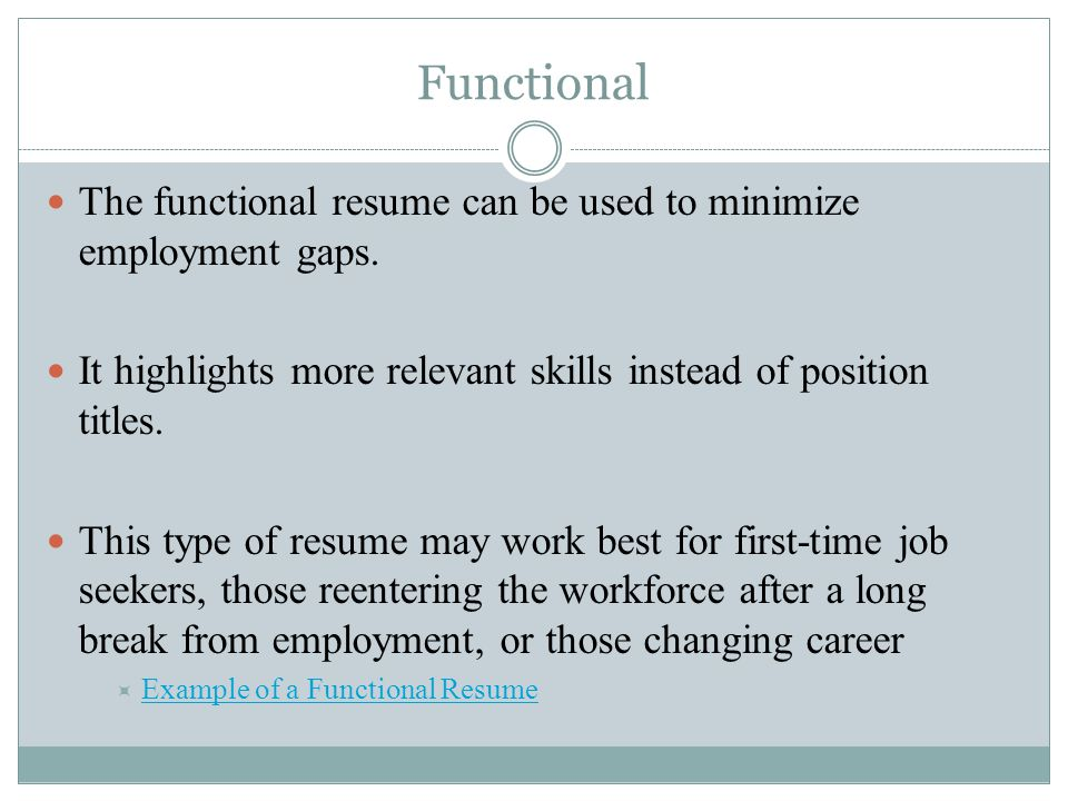 resumes four basic types of resumes chronological functional