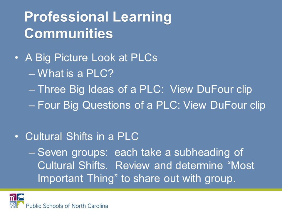 A Big Picture Look at PLCs –What is a PLC.