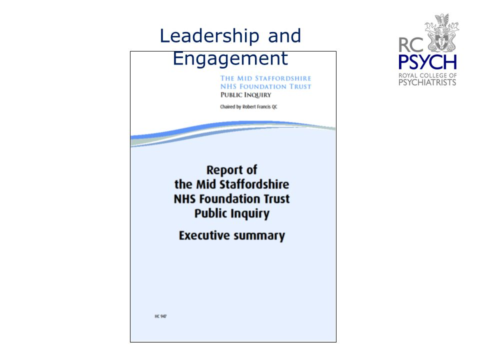 Leadership and Engagement