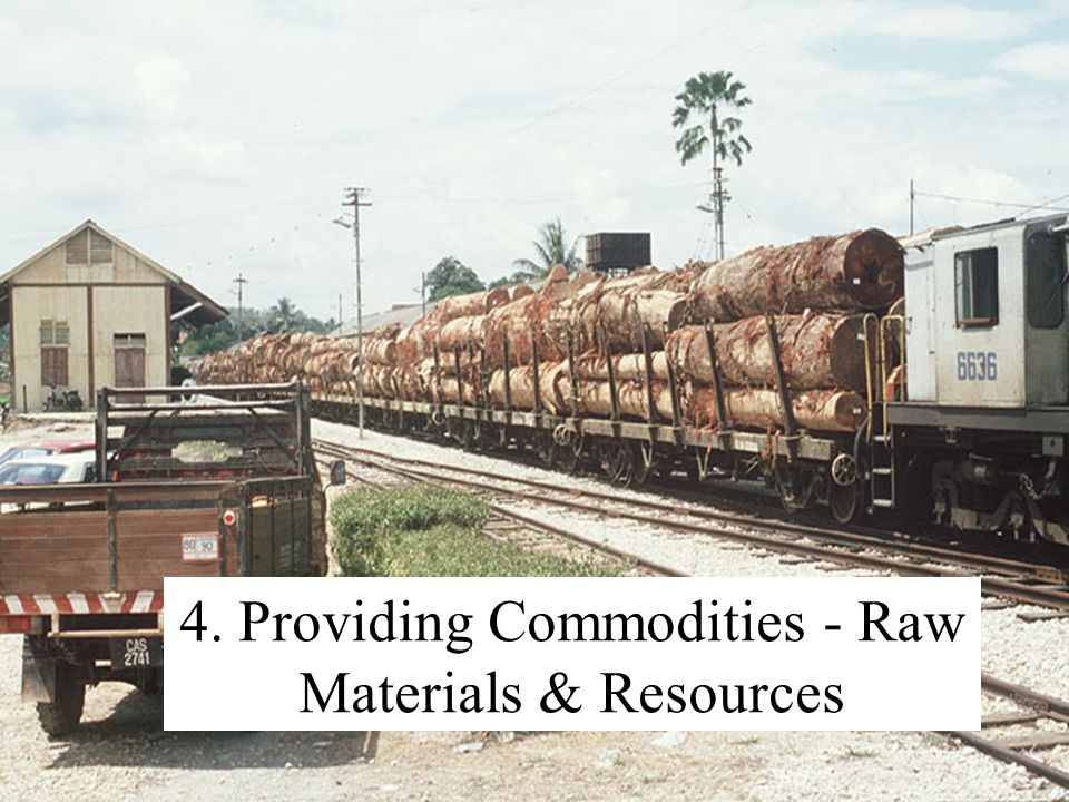 4. Providing Commodities - Raw Materials & Resources