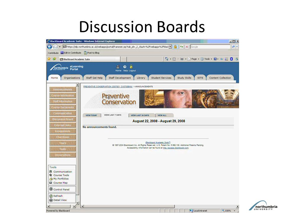Discussion Boards