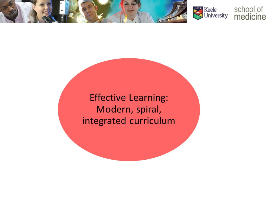 Effective Learning: Modern, spiral, integrated curriculum