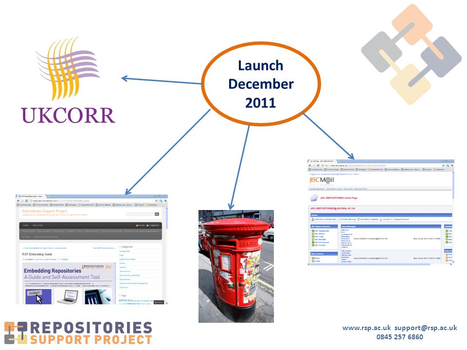 www.rsp.ac.uk support@rsp.ac.uk 0845 257 6860 Launch December 2011