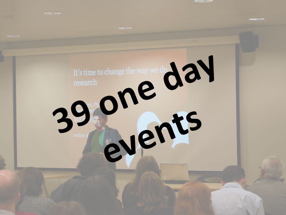 39 one day events