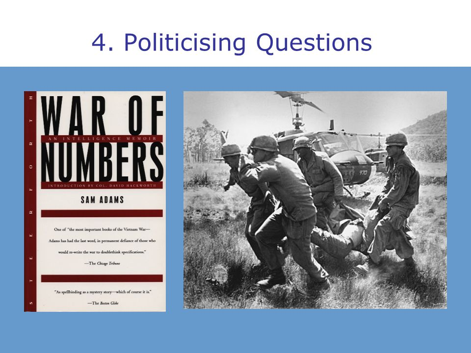 4. Politicising Questions