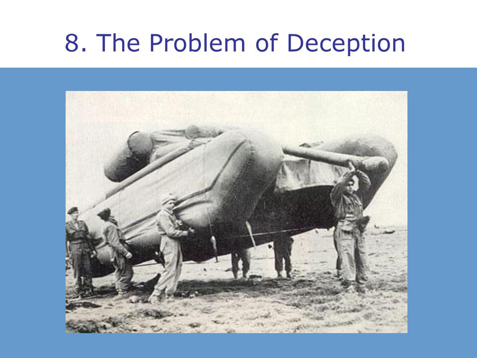 8. The Problem of Deception