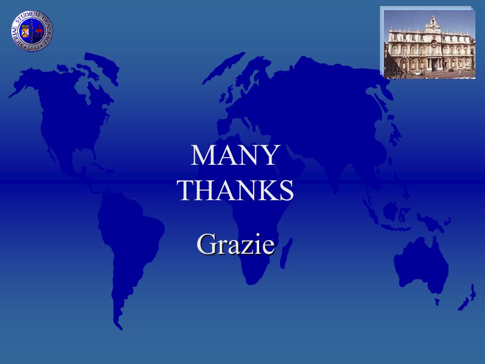 MANY THANKSGrazie