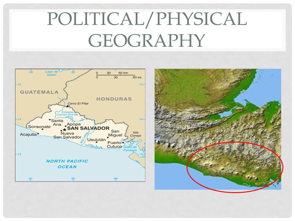 POLITICAL/PHYSICAL GEOGRAPHY