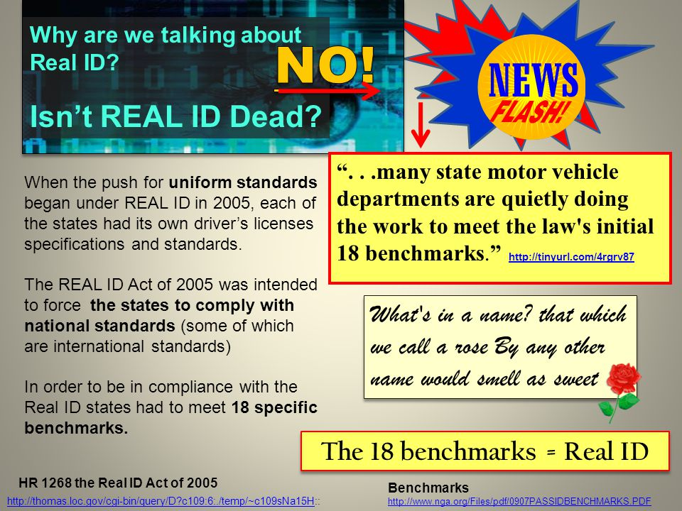 When the push for uniform standards began under REAL ID in 2005, each of the states had its own driver's licenses specifications and standards.
