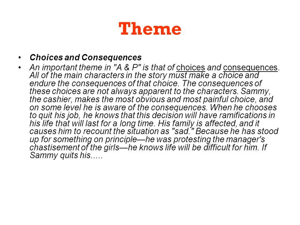 a and p john updike summary