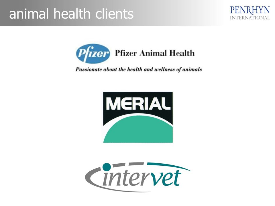 animal health clients