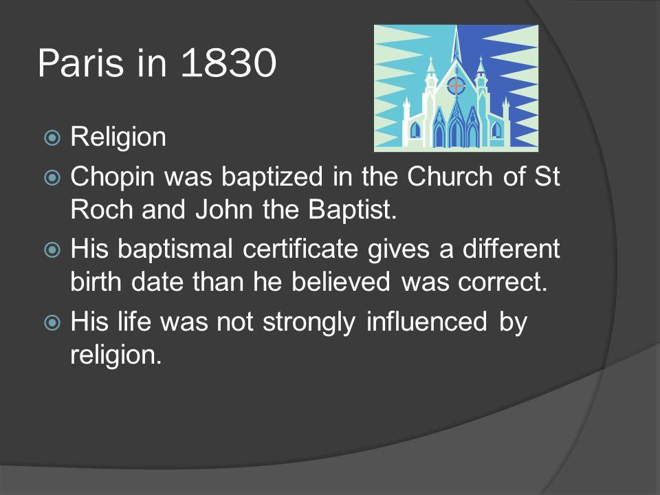chopin religion