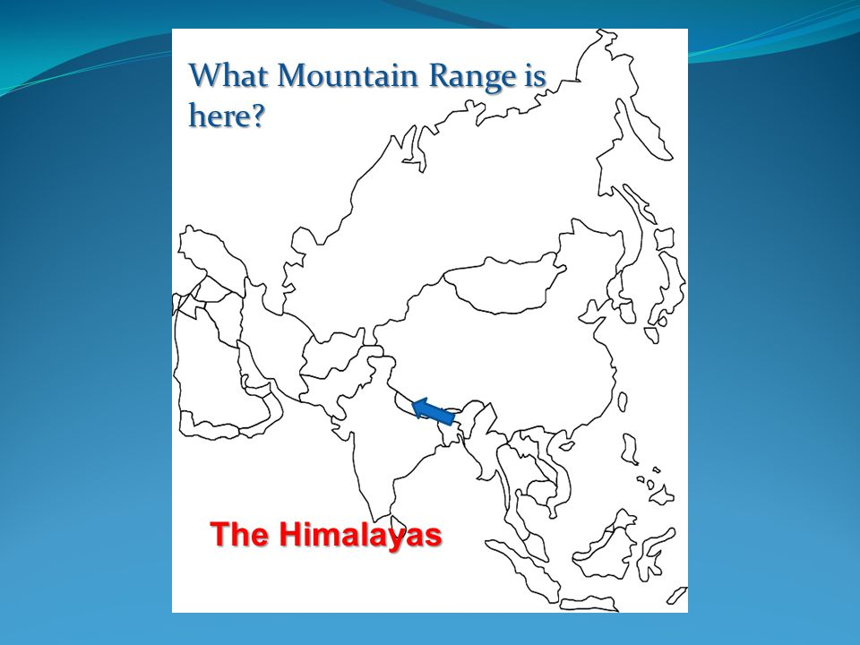 ©abcteach Japan and Asia Japanabcteach Japan What Mountain Range is here The Himalayas