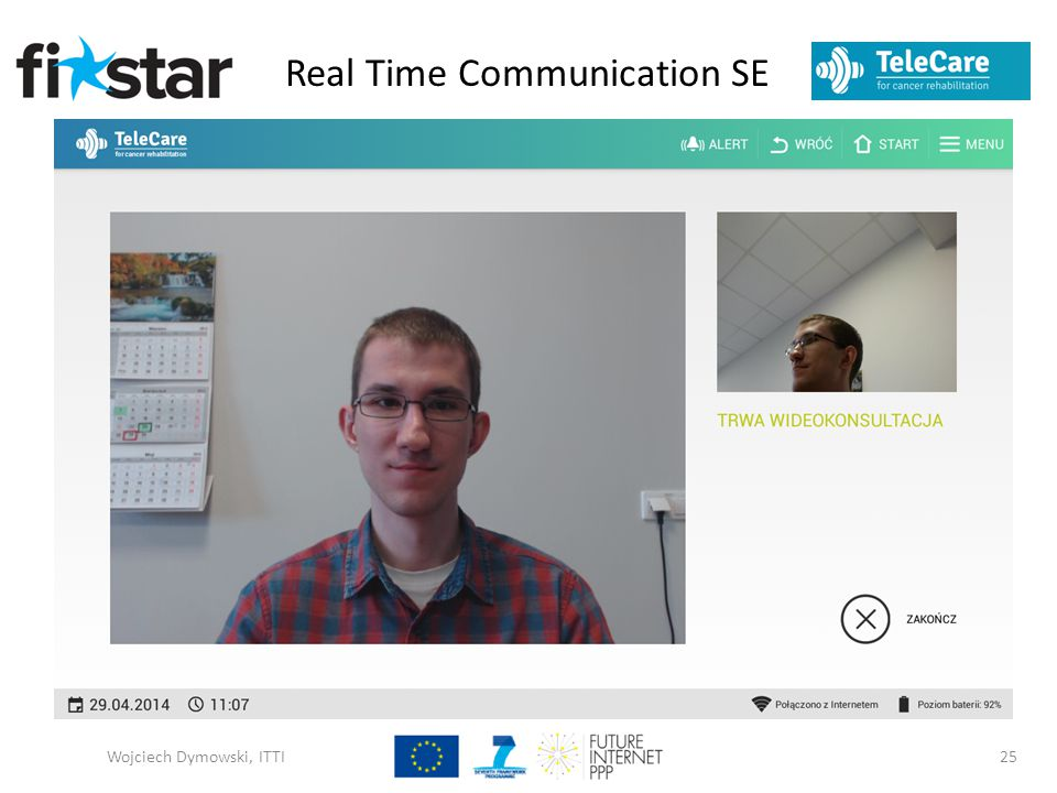 Real Time Communication SE Wojciech Dymowski, ITTI25