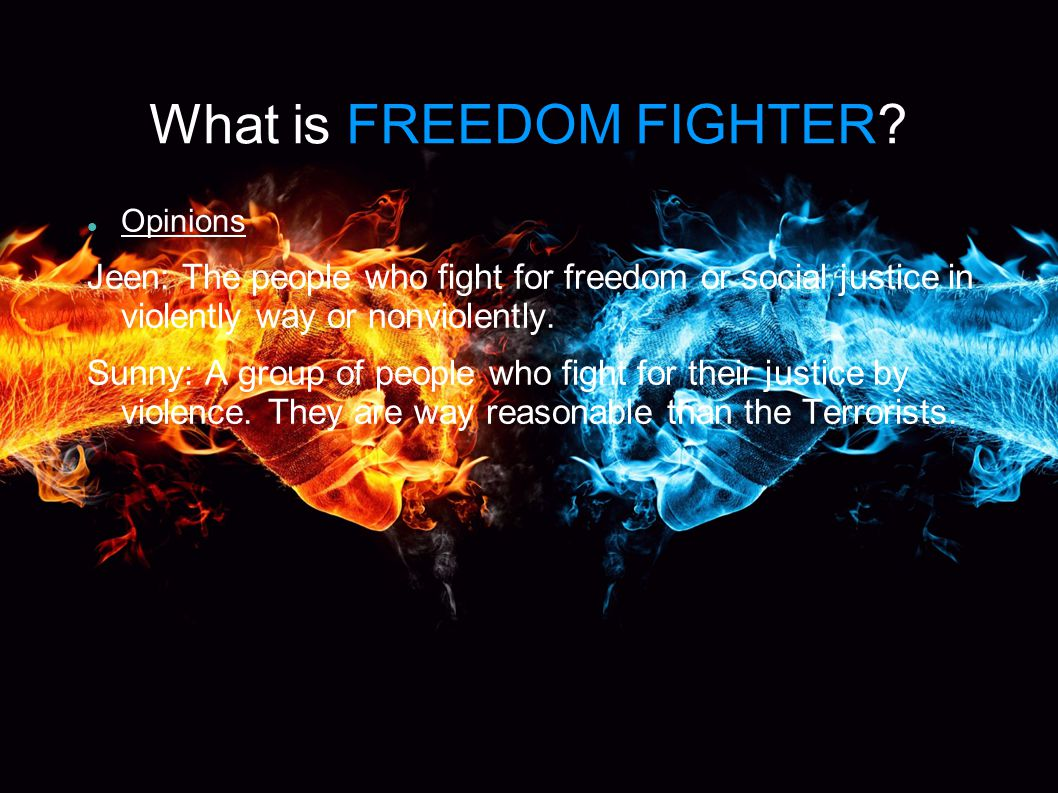 What is FREEDOM FIGHTER.