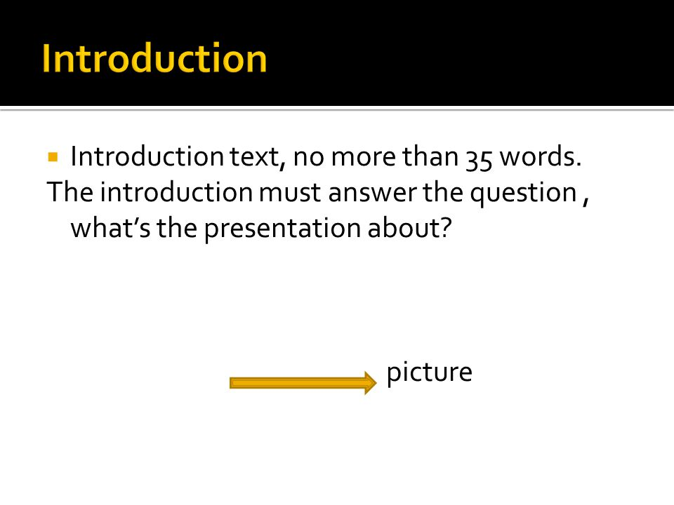  Introduction text, no more than 35 words.