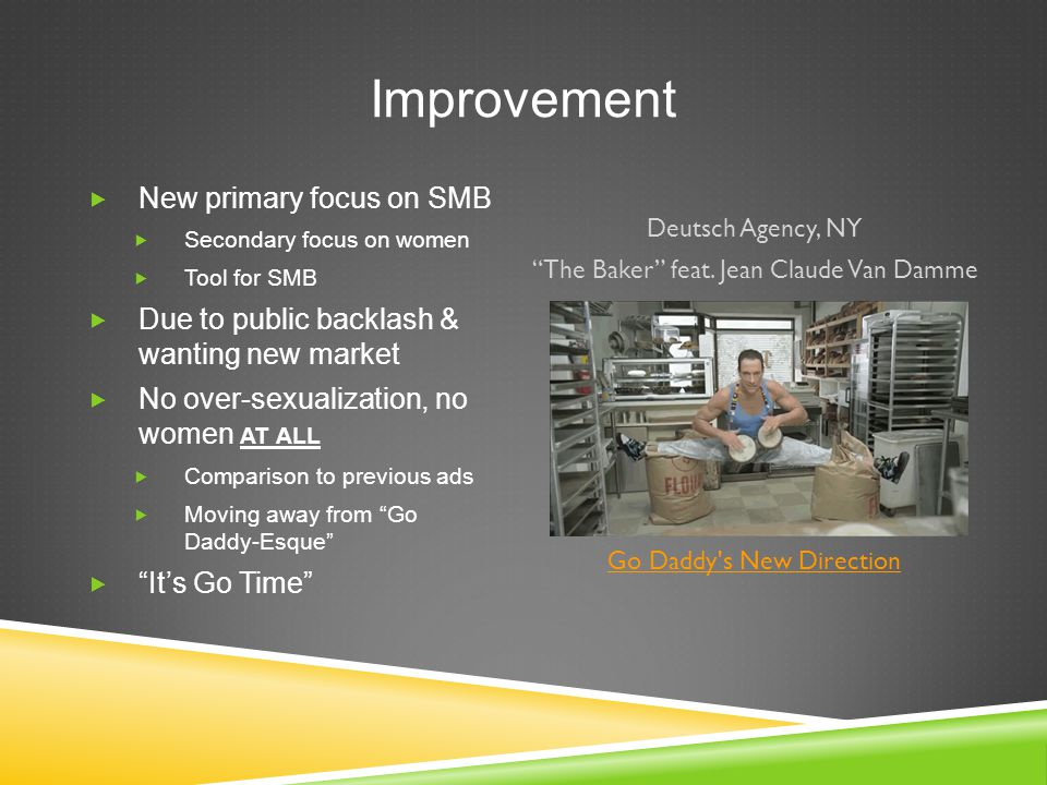 Improvement Deutsch Agency, NY The Baker feat.