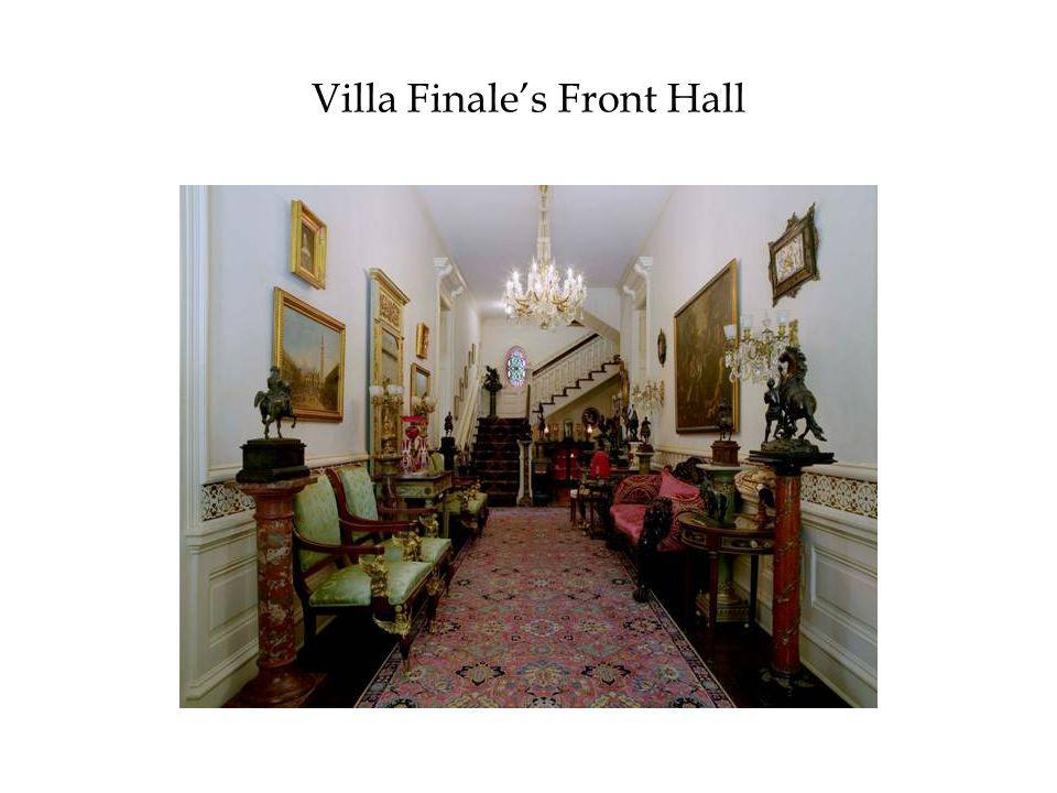 Villa Finale's Front Hall
