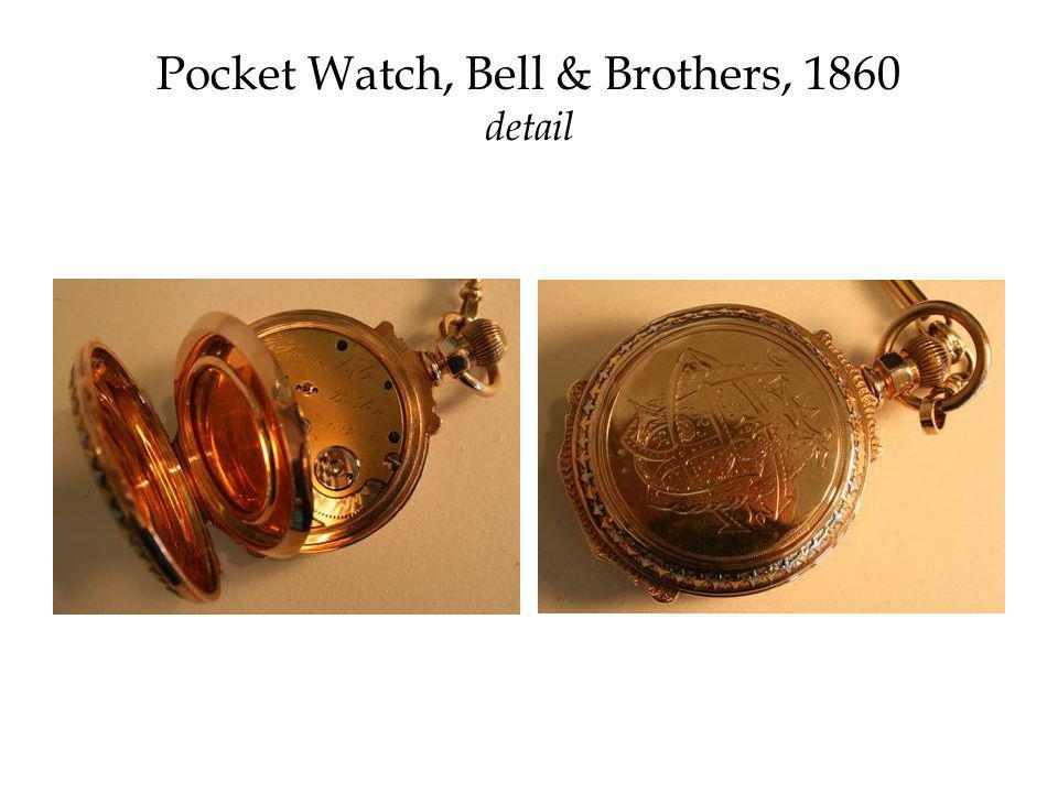 Pocket Watch, Bell & Brothers, 1860 detail