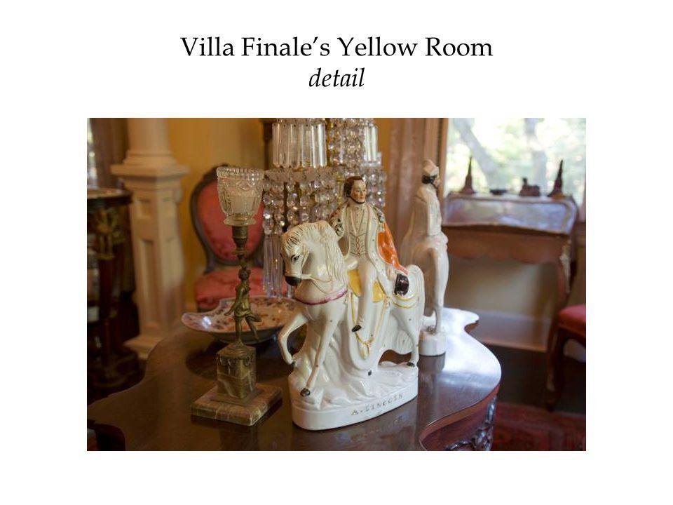 Villa Finale's Yellow Room detail