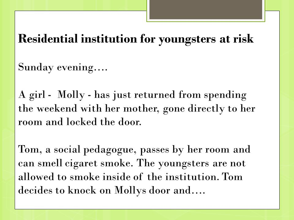 Residential institution for youngsters at risk Sunday evening….