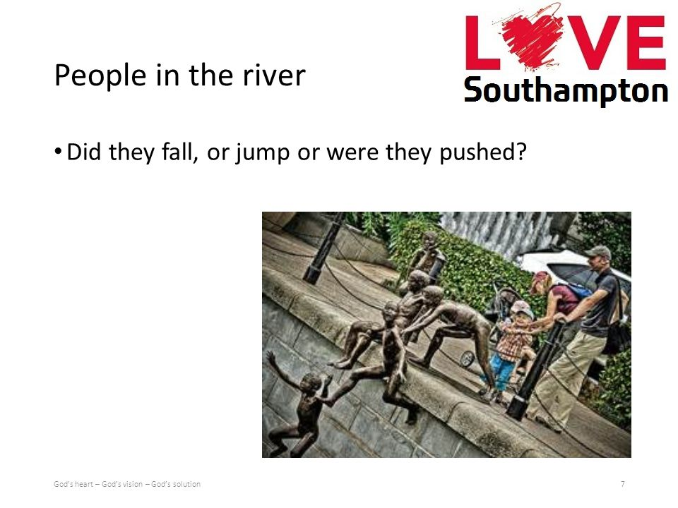 People in the river Did they fall, or jump or were they pushed.