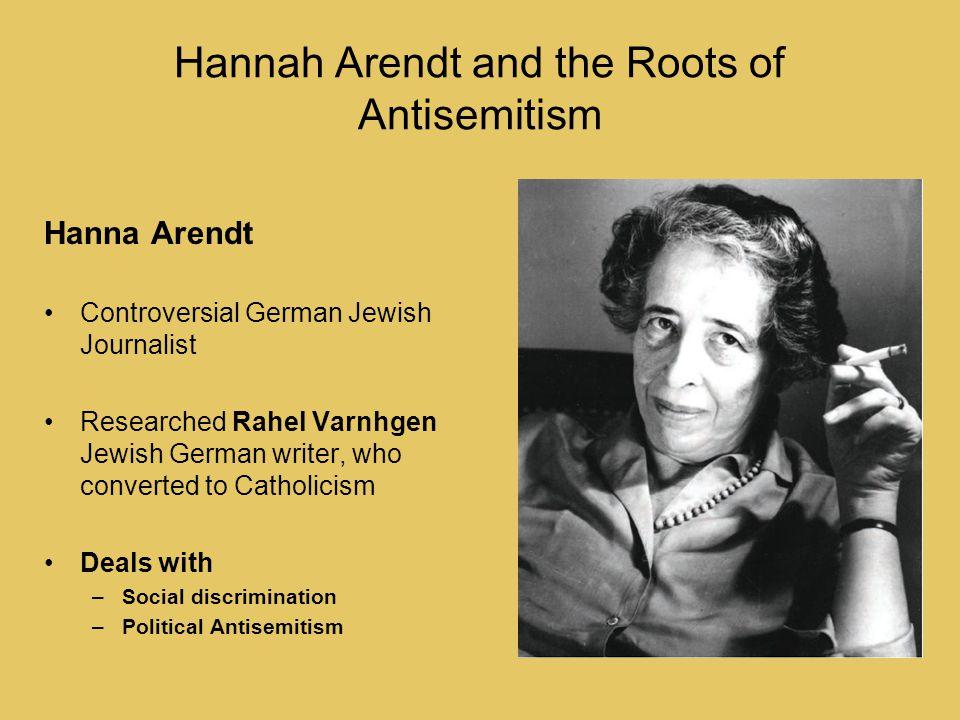 antisemitism arendt hannah