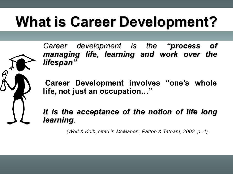 What is Career Development.