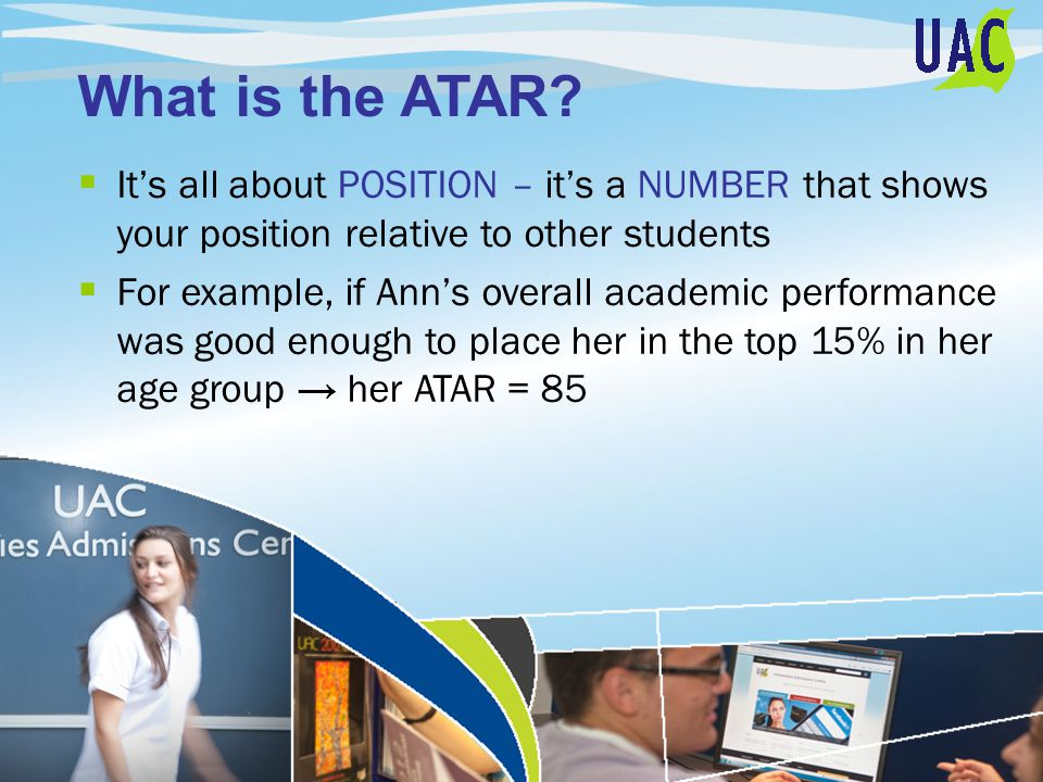 What is the ATAR.