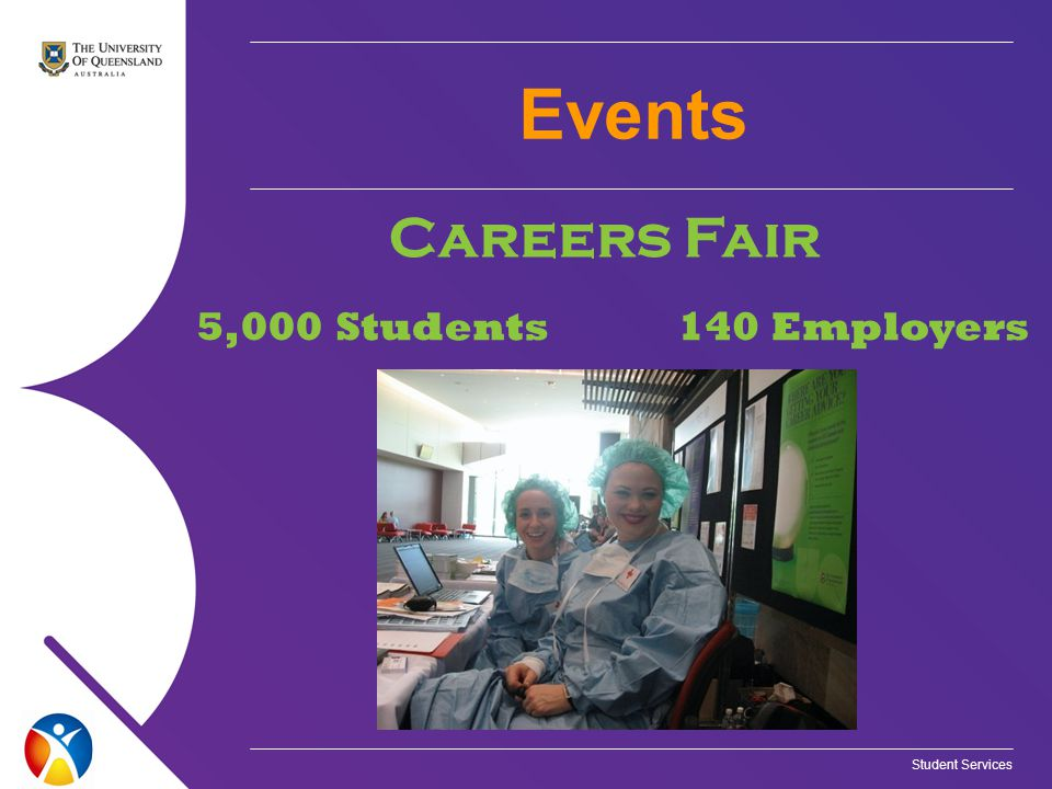 Events Careers Fair 5,000 Students140 Employers