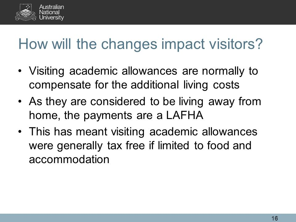 How will the changes impact visitors.