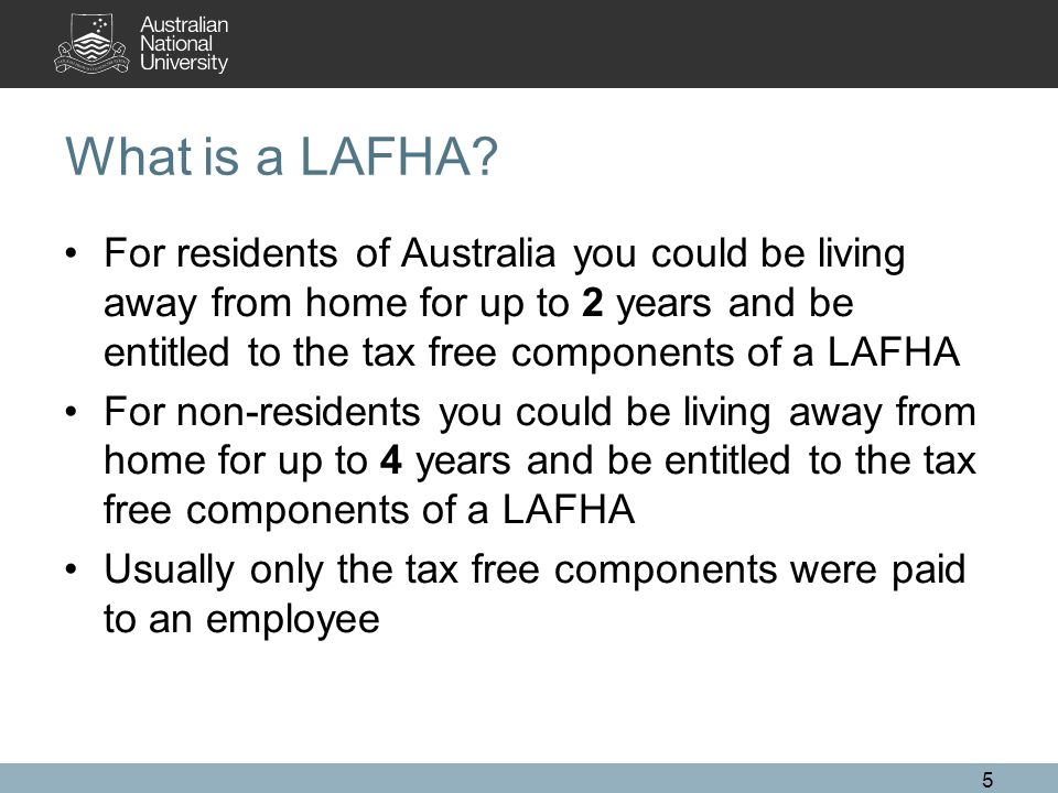 What is a LAFHA.