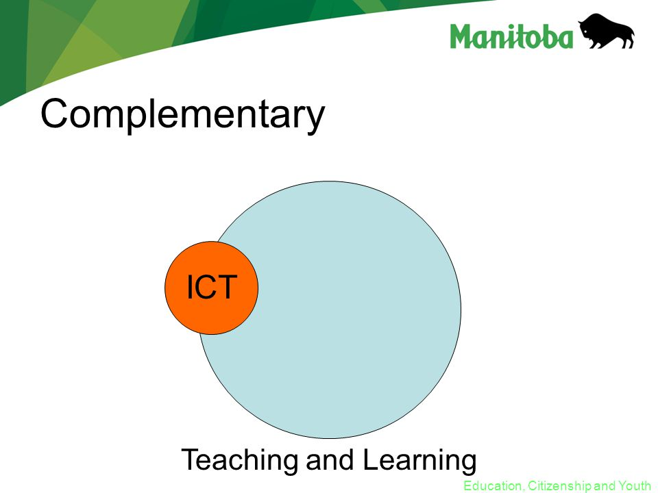 Education, Citizenship and Youth Complementary Teaching and Learning ICT