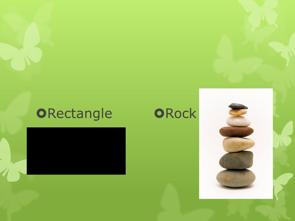  Rectangle  Rock