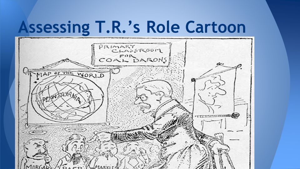 Assessing T.R.'s Role Cartoon