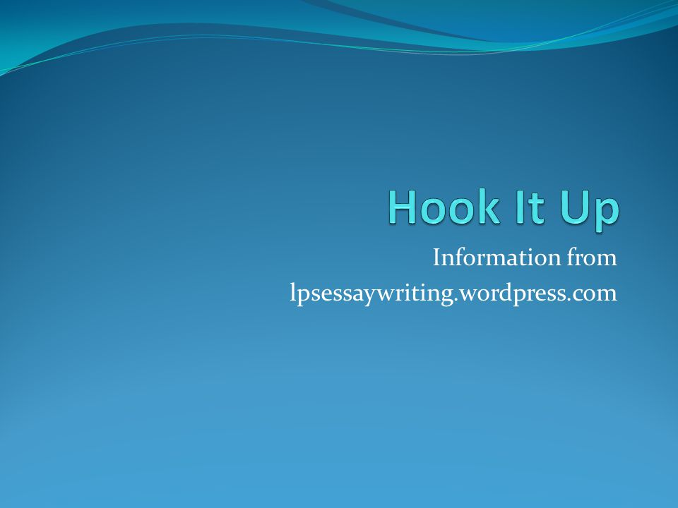 Information from lpsessaywriting.wordpress.com