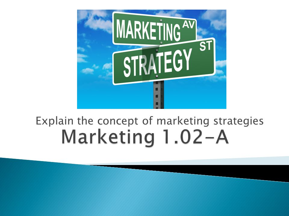 Explain the concept of marketing strategies