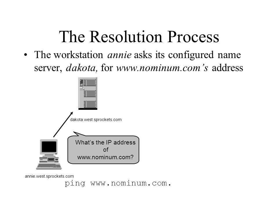 What's the IP address of www.nominum.com.