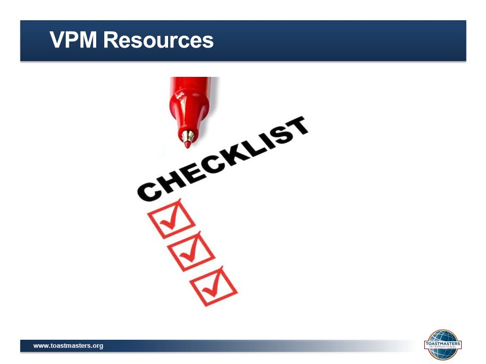 VPM Resources