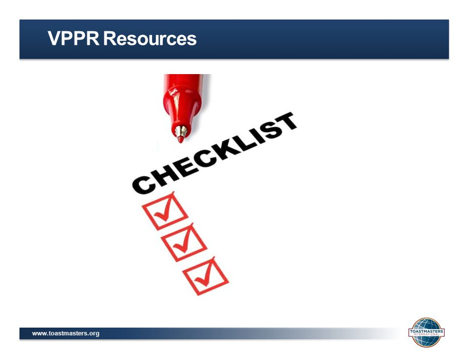 VPPR Resources