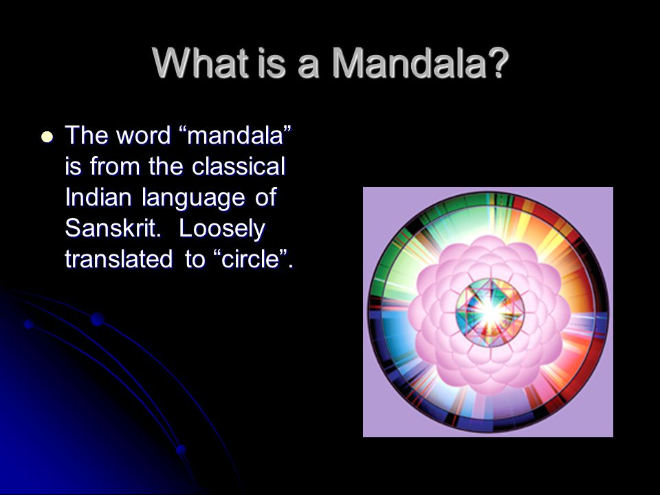 What is a Mandala