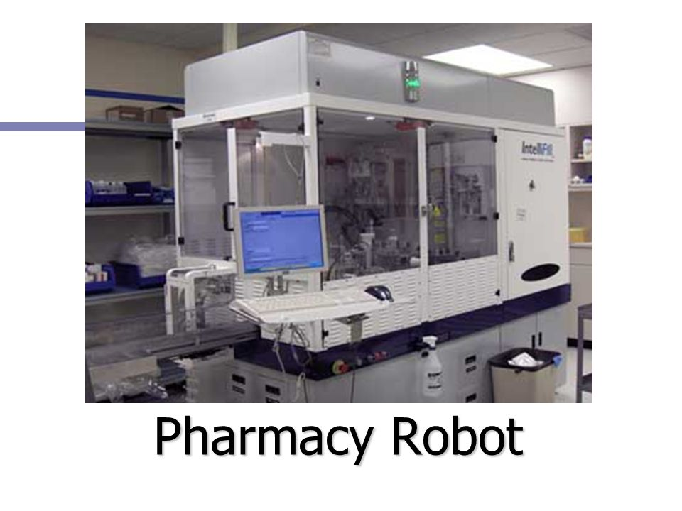 Pharmacy Robot