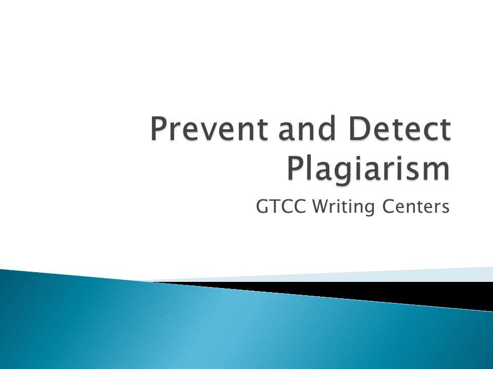 GTCC Writing Centers