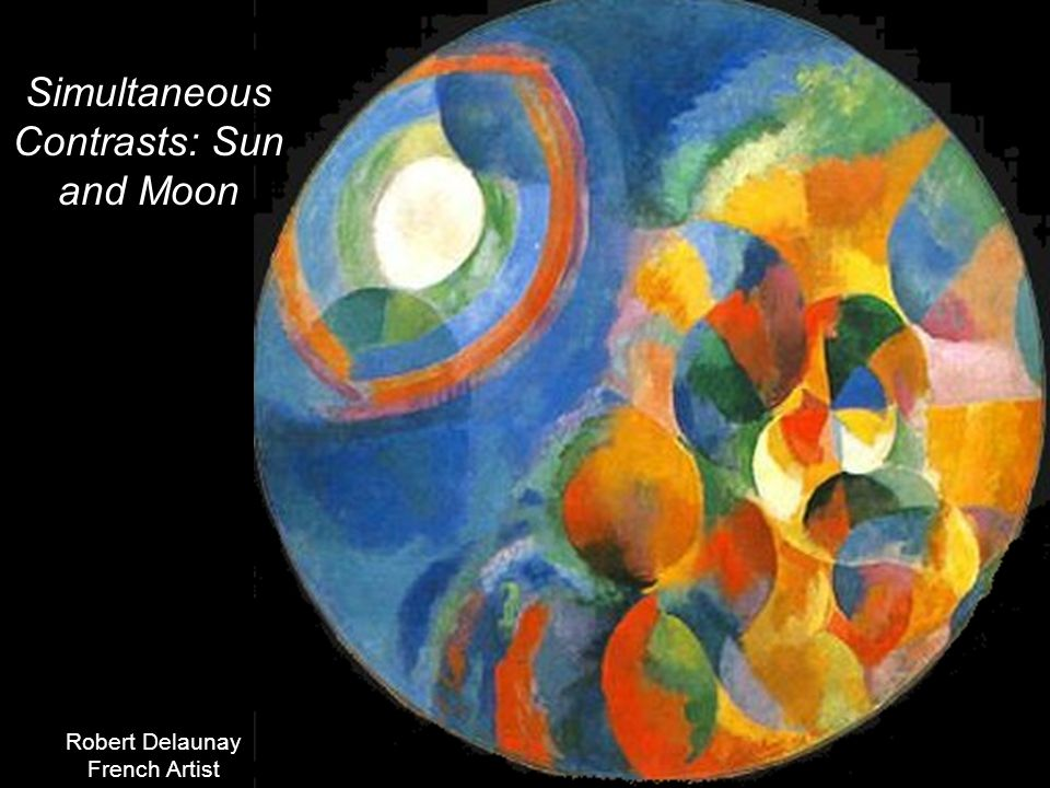 Simultaneous Contrasts: Sun and Moon Robert Delaunay French Artist