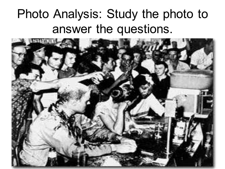 Photo Analysis: Study the photo to answer the questions.
